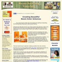 Room Color Schemes - Home Color Scheme