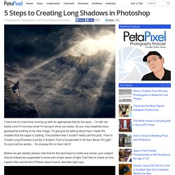 5 Steps to Creating Long Shadows in Photoshop