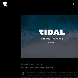 Creating A Data Driven Search Strategy : The Digital Wave 2