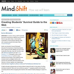 Creating Students' Survival Guide to the Web