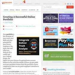 Creating A Successful Online Portfolio