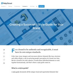 Creating a Successful Style Guide for Your Brand