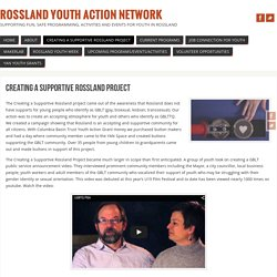 Creating a Supportive Rossland Project