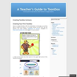 Creating ToonDoo Cartoons