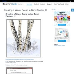 Creating a Winter Scene in Corel Painter 12