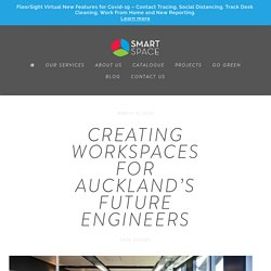 Creating workspaces for Auckland's future engineers