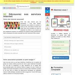 Création de site Internet : agence création site internet, créer un site internet administrable
