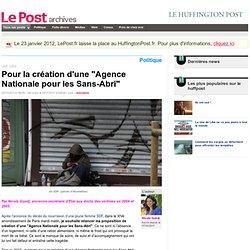 """Pour la création d'une """"Agence Nationale pour les Sans-Abri"""" - Nicole Guedj sur LePost.fr (20:22)"""