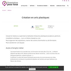 Création en arts plastiques