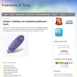 AudioKey, une compilation portable pour l'audio