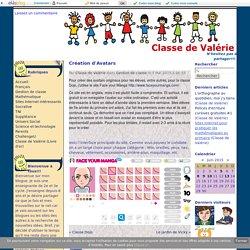Création d'Avatars - Classe de Valérie
