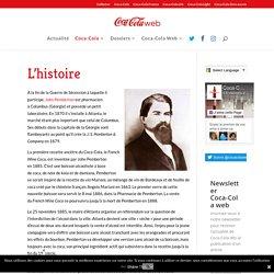 L'histoire - Coca-Cola Web