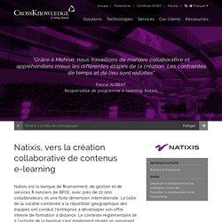 Natixis, vers la création collaborative de contenus e-learning