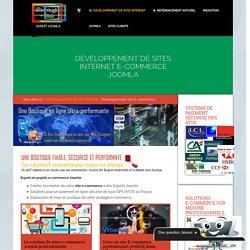 création site E-commerce joomla