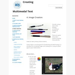 4. Image Creation - Creating Multimodal Text
