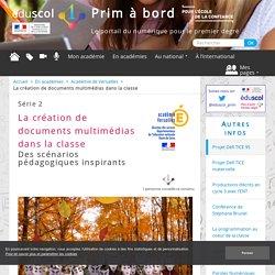 La création de documents multimédias dans la classe