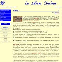 Création - Les petits livres à l'école - Le site des Éditions Celestines