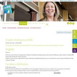 Création d'entreprise et ASS