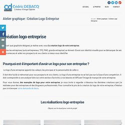 Atelier graphique : Création Logo Entreprise par Cédric Debacq
