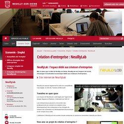 Création d'entreprise : NeuillyLab