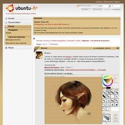 Mypaint : vos dessins & brosses (Page 1) / Création graphique, musicale et vidéo