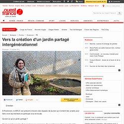 Vers la création d'un jardin partagé intergénérationnel , Rostrenen 13/01/2013
