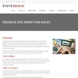 Création Site Internet Avocat Design