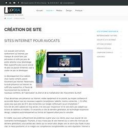 Création de sites Internet pour avocats