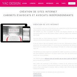 Création site internet cabinets avocats Lyon