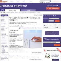 Création site Internet : l'essentiel sur la création d'un site web