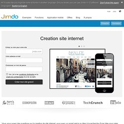 creation site web