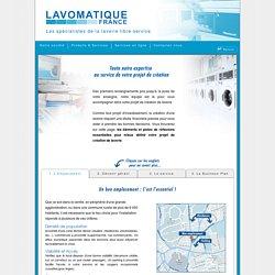 Création, investir dans une laverie - Conseils, études - Lavomatique France