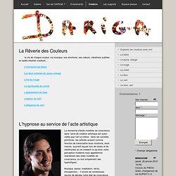 Création - Site Jimdo de peinturehypnose!