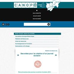 Des aides pour la création d'un journal scolaire - Canopé de Lyon