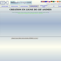 Creation en ligne de gif anime