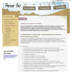Création d'un magasin biologique - Agrobio