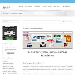Création de site web Montpellier – ipt34 – 10 formats d'image numérique