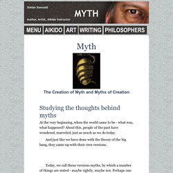 Creation of Myth - How Mythology Emerges