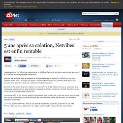 5 ans après sa création, Netvibes est enfin rentable - Actualité