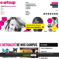 e-artsup, l'école de création numérique, design et graphisme
