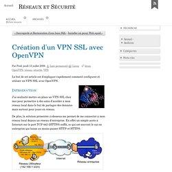 Création d'un VPN SSL avec OpenVPN - Nemako - Systèmes et Réseau