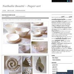 Création en papier de soie