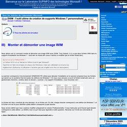 DISM : l'outil ultime de création de supports Windows 7 personnalisés