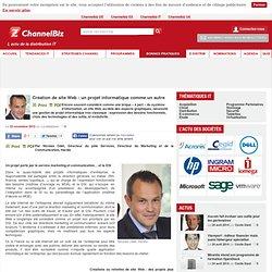 Création de site Web : un projet informatique comme un autre