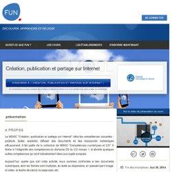 Création, publication et partage sur Internet »