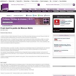 Il est mort le poète de Marcus Malte - Création Radiophonique
