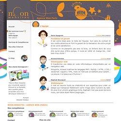 Agence Web Paris - Création sites Internet & référencement naturel - L'équipe - Moon Websites