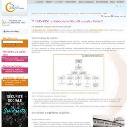 1945-1950: création de la Sécurité sociale - Partie 2