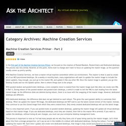 Machine Creation Services
