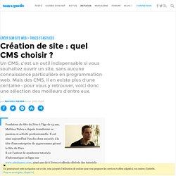 Création de site : quel CMS choisir ?